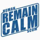 Remain Calm by puppaluppa