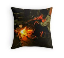 Dinner in Sa Pa Throw Pillow