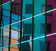 Reflection in colour by Elisabeth van Eyken