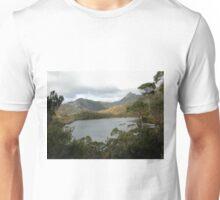 Cloudy Day at Cradle Mountain, Tasmania, Australia, May, 2008. Unisex T-Shirt