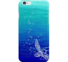 White Turtle iPhone Case/Skin
