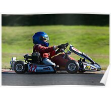 great light whilst Karting Poster