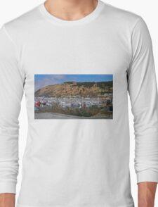 Fishing Boat Harbour, Kodiak, Alaska Long Sleeve T-Shirt