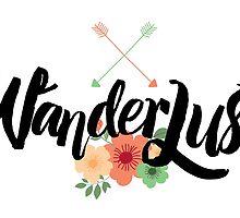 Wanderlust 02 lettering by sevenroses