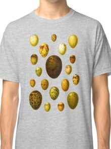 Lovely colorful wild egg collection Classic T-Shirt