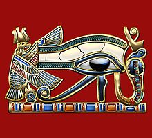 The Eye of Horus by Serge Averbukh