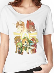 The legend of zelda (mlp) Women's Relaxed Fit T-Shirt