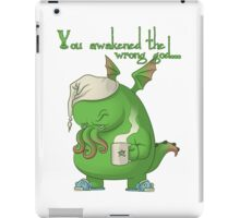 CTHULHU WOKE UP iPad Case/Skin