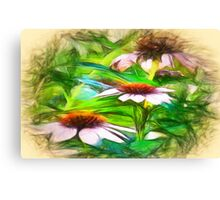 Flower Impressions Canvas Print