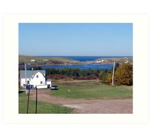 Bay St. Lawrence Art Print