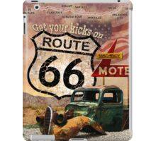 Get your Kicks on Route 66 iPad Case/Skin