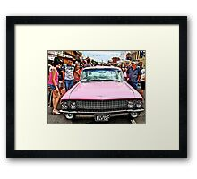 Elvis ride Framed Print