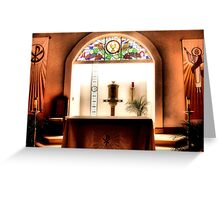 Tabernacle Greeting Card
