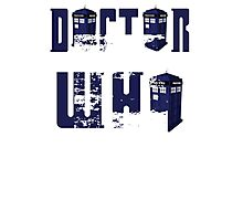 doctor who design Photographic Print