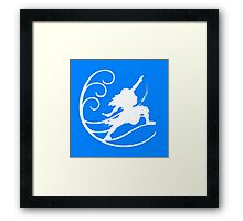 Waterbending - A Avatar shirt Framed Print