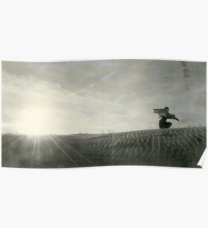 Sun Wind Woman Poster