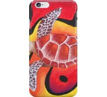 Red Turtle Teddie iPhone Case/Skin