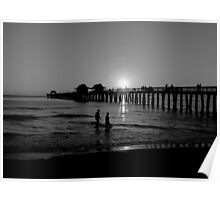 The Naples Florida Pier 2010 Poster