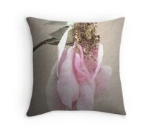 Today, I'm Not So Pretty - Image and Poem Throw Pillow