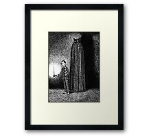 Visitations by Supernatural Someones of Unearthly Dispositions Framed Print
