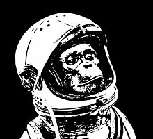 Cool monkey astronaut is proud by funnyshirts
