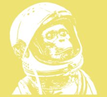 Cool monkey astronaut is proud Kids Clothes