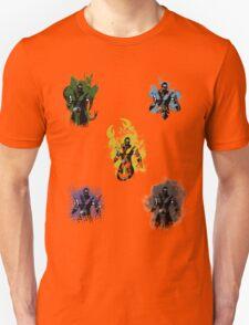 Many faces of Ninjas. T-Shirt