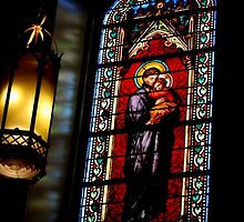 Santa Fe Divinity; Loretto Chapel by rwhitney22