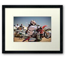 Moto Army Framed Print