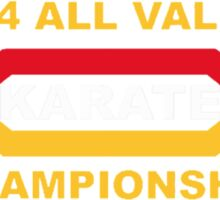1984 All Valley Championship Sticker