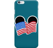 American Flag Mickey Ears iPhone Case/Skin