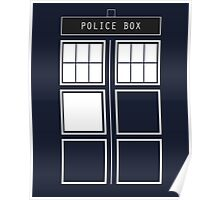 Feel like a police box Poster