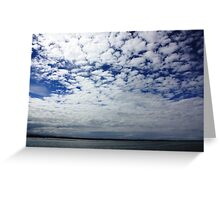 Clouds. Greeting Card