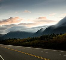 Clouds on Newfoundland Mountains by Neil Speers