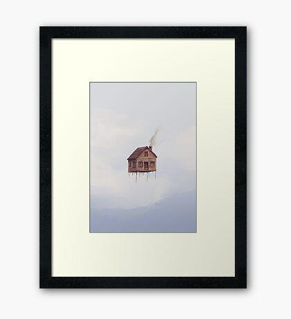 Lofty Skies Framed Print