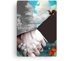 Win with Love Canvas Print