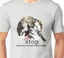 Hunting foxes Unisex T-Shirt