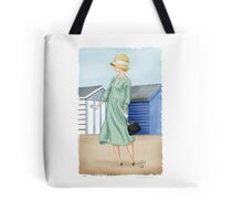 Anna at the beach Tote Bag