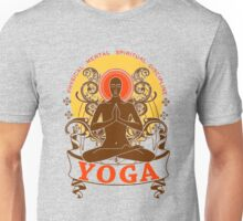 Yoga : Physical Mental Spiritual Discipline  Unisex T-Shirt