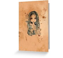 Alice How Long Greeting Card