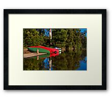 """Lakeside At Jubilee"" Framed Print"