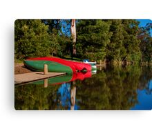 """""""Lakeside At Jubilee"""" Canvas Print"""
