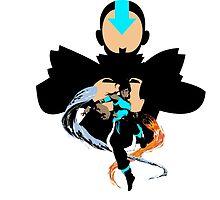 The new avatar Korra by Zabullionaire