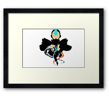 The new avatar Korra Framed Print