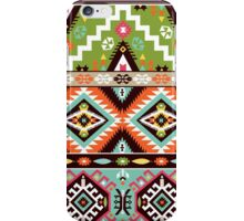 Seamless pattern  in tribal style iPhone Case/Skin