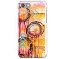 Mixed Media Jellyfish iPhone Case/Skin