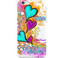 Vibrant Hearts iPhone Case/Skin
