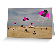 Beach activities  Greeting Card