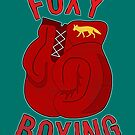 Foxy boxing by puppaluppa