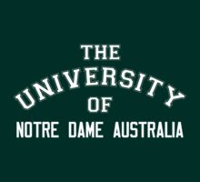 The University of Notre Dame Australia by HelenCard